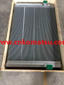 E365CL E374D Excavator Oil Cooler , Cat Excavator Oil Cooler 245-9335