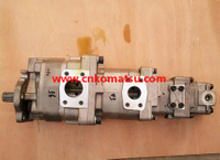 WA320P WA320L wheel loader torque hydraulic oil pump , 705-56-36050 705-56-36051 705-55-24130